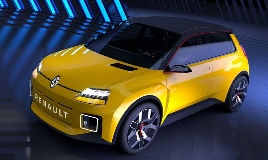 Renault 4, une Renault électrique ?